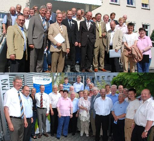 """Die CDA-Sommerbereisung machte Station bei der Arbeitsagentur Coesfeld/Borken in Coesfeld sowie beim Ahauser Software-Unternehmen """"media Beam""""."""