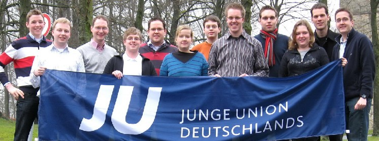 Der Kreisvorstand der Jungen Union bei ihrer Klausurtagung in Gerleve