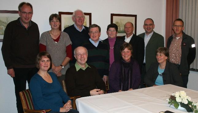 v.l. Ulrike Freitag (Vorsitzende CDA), Friedhelm Theveßen, Margarete Hake, Margaretha Bertram (Vertreter Hospizgruppe Lüdinghausen-Seppenrade e.V.)