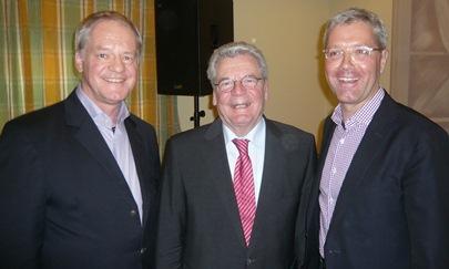Werner Jostmeier MdL mit Joachim Gauck und dem CDU-Landesvorsitzenden Norbert Röttgen