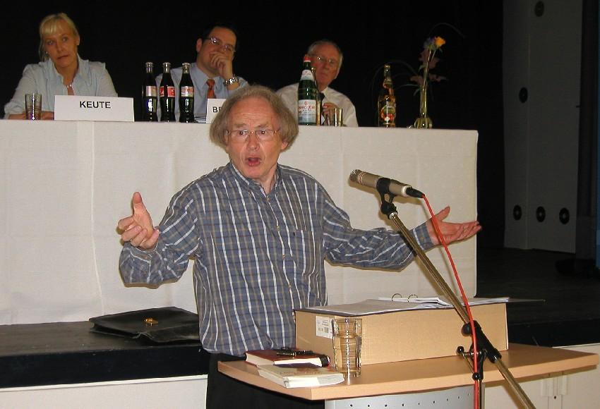 Prof. em. Dr. Dr. h.c. Arnold Angenendt