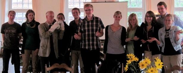 Mit Selbstsicherheit überzeugen - Wie das geht, konnten die Teilnehmerinnen und Teilnehmer des jüngsten Rhetorikseminars der Jungen Union Kreis Coesfeld in Nottuln lernen.