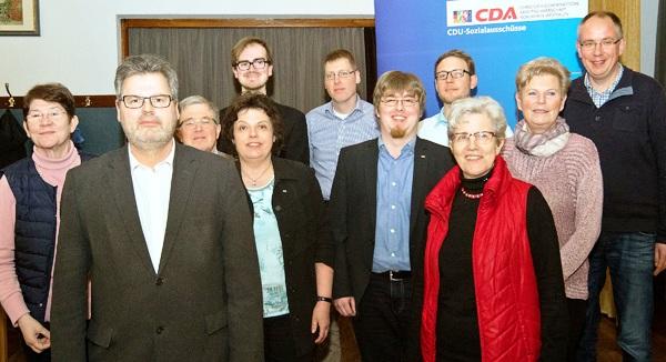Die Delegierten und Gäste bei der CDA-Bezirkstagung aus dem Kreis Coesfeld freuten sich über eine gelungene Veranstaltung mit guten Ergebnissen für ihre Kandidaten.